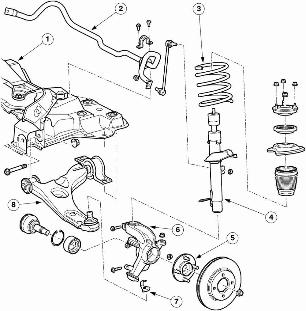 Ремонт ходовой форд фокус 2