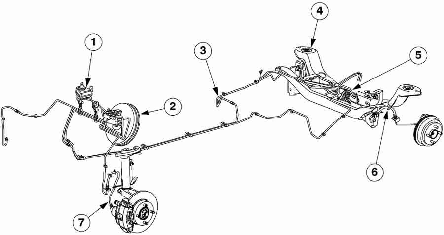 Схема тормозов форд фокус 2